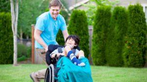 Contributo per assistenza a figli portatori di handicap